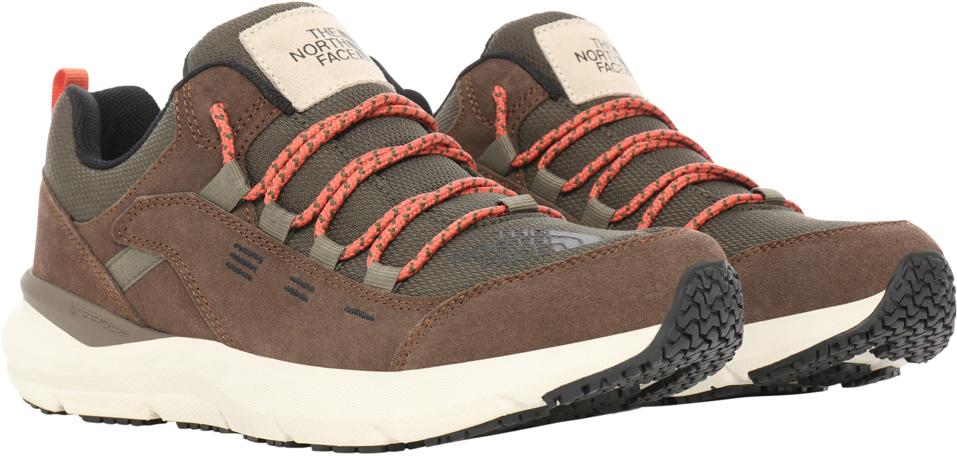 The North Face Mountain 2 Sneakers Heren, new taupe greenbipartisan brown